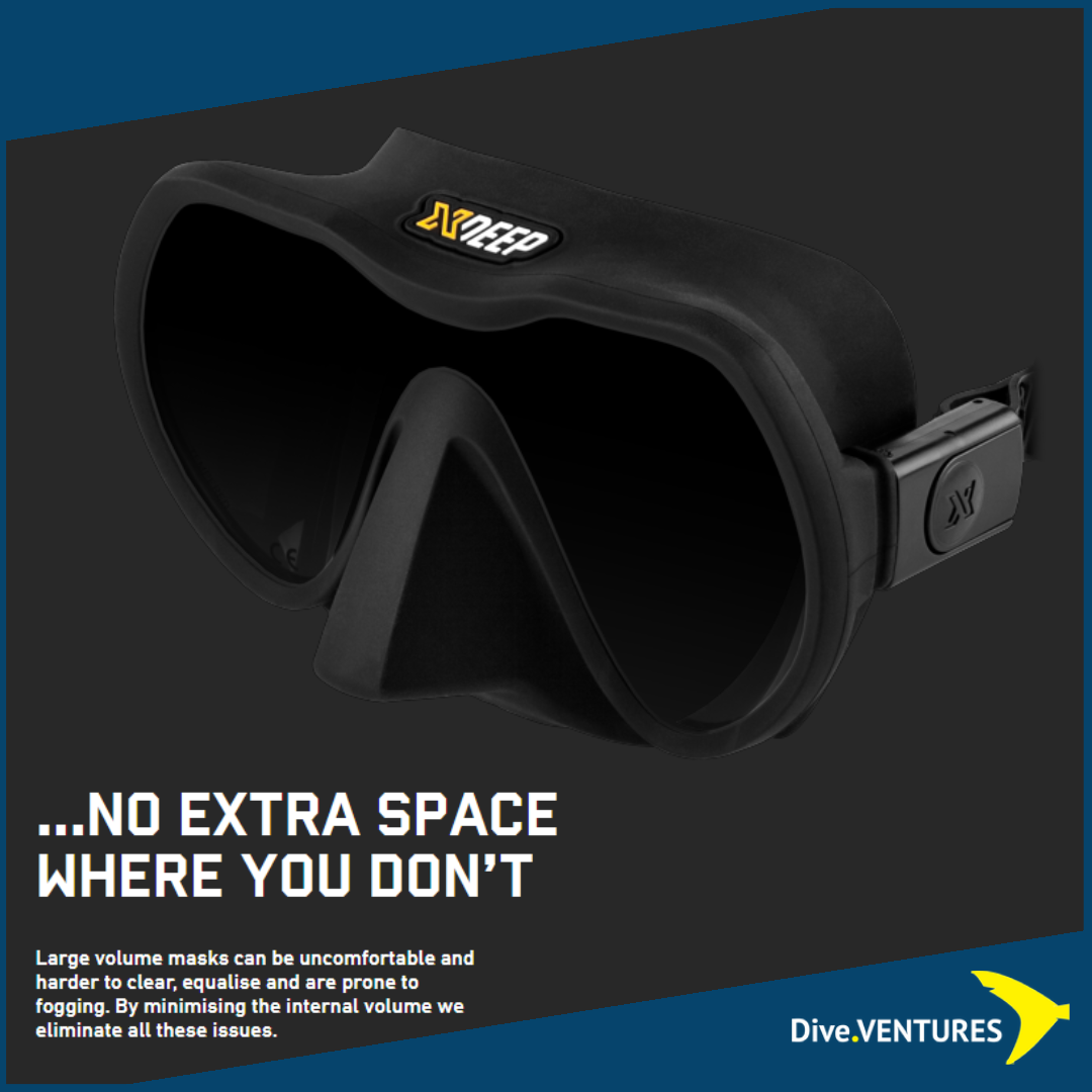 XDeep Frameless Mask Volume | Dive.VENTURES