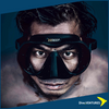 XDeep Frameless Mask Black  | Dive.VENTURES