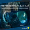 XDeep Frameless Mask Clear Glass  | Dive.VENTURES