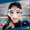 XDeep Frameless Mask  Clear  | Dive.VENTURES