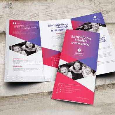 Custom printed brochures from PrintSource360 are reliable marketing tools that promote your company's products and services.