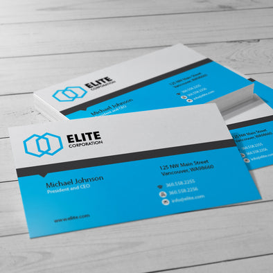 As a leading commercial printing company, PrintSource360 provides high-quality business card printing services that  includes many custom papers and printing options.
