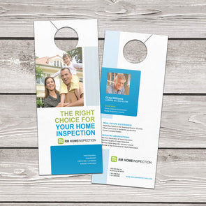 With PrintSource360's Door Hanger printing services, you get a product that will capture the attention of potential customers in your area.