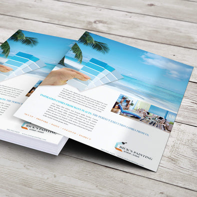 PrintSource360 offers flyer printing services at a very competitive price, without compromise to quality and service.