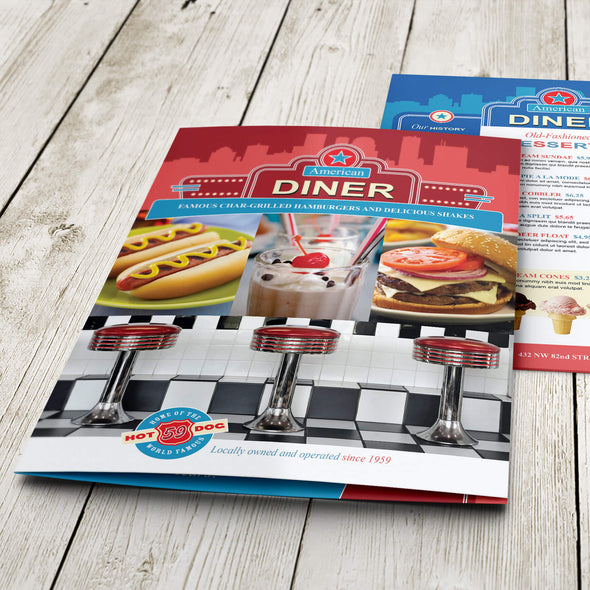 PrintSource360 provides exceptional quality and affordable restaurant menu printing services that will impress both you and your customers.