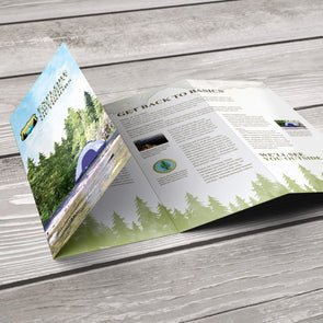 PrintSource360's affordable, high-quality rack brochure printing services enable you to make the most out of your marketing budget while promoting your products and services.