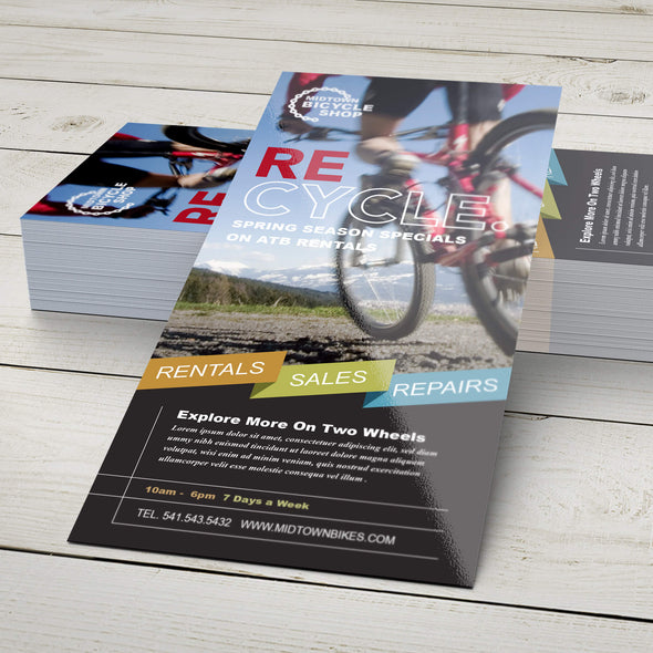 Make an impact and spread your message with high-quality rack cards from PrintSource360.