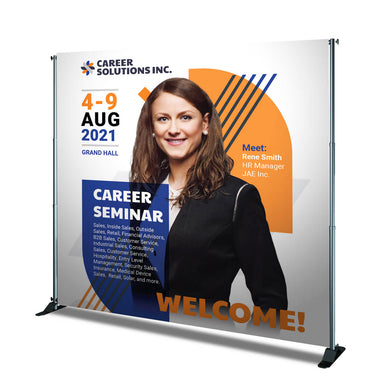 Back Drop Banner - 9oz. Polyester Fabric