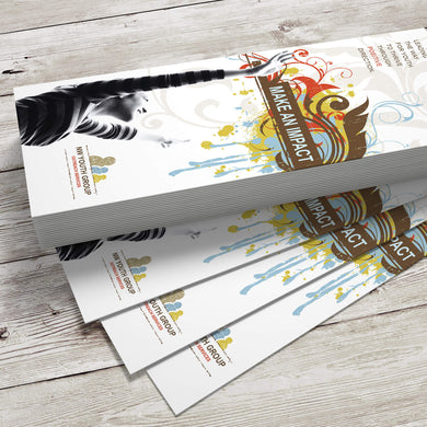 Bookmark - 16pt. Matte Cover with Satin Aqueous Coating