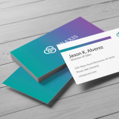 Business Card - 14pt. Smooth Cover, Uncoated