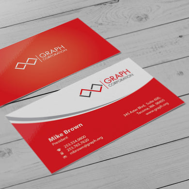 Business Card - 16pt. Gloss Cover, High-Gloss UV Coating