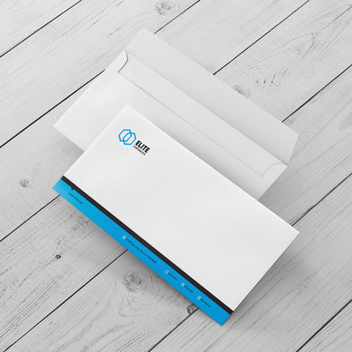 Envelopes - Business  - 70lb. Smooth Text Bright White, Uncoated