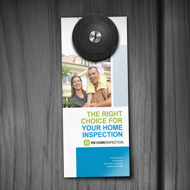 Door Hanger - 16pt. Matte Cover with Satin Aqueous Coating