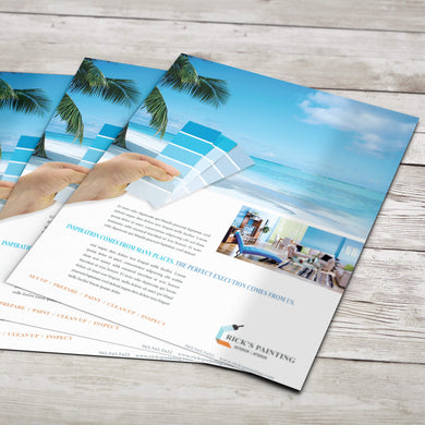 Flyers - 100lb. Gloss Book with Gloss Aqueous Coating