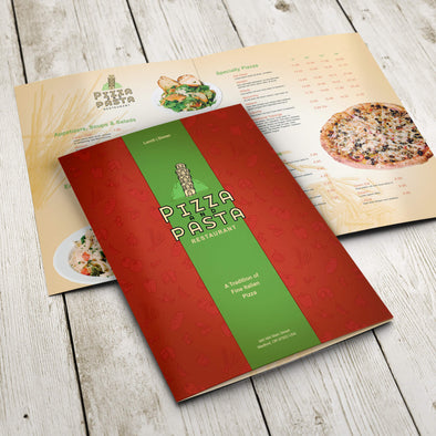 Menu - 100lb. Gloss Cover with Gloss Aqueous Coating