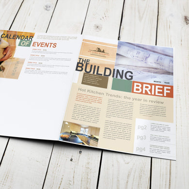 Newsletter - 80lb. Gloss Book with Gloss Aqueous Coating
