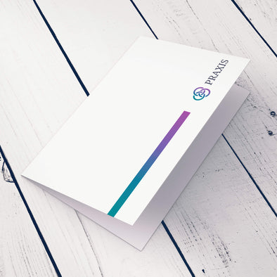 Note Card - 14pt. Smooth Cover, Uncoated