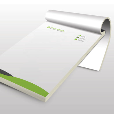 Notepads - 70lb. Smooth Text, Uncoated