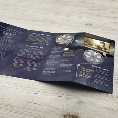 Rack Brochure - 70lb. Smooth Text, Uncoated