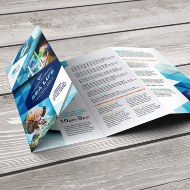 Rack Brochure - 80lb. Gloss Book with Gloss Aqueous Coating