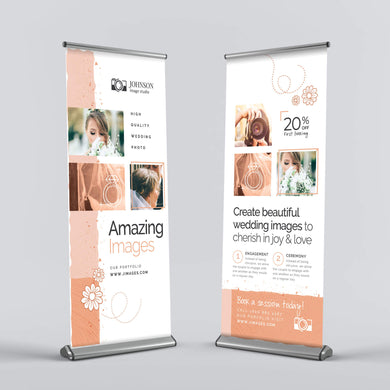 Retractable Banner - 9oz. Poly Fabric (Deluxe)