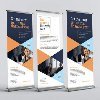 Retractable Banner - 13oz. Matte Vinyl (SD Premium)