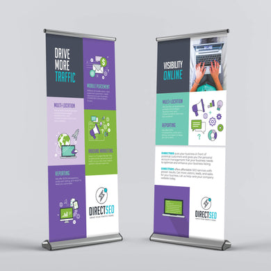 Retractable Banner - 9oz. Poly Fabric (SD Premium)