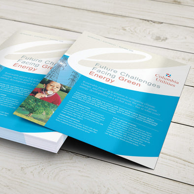 Sales Sheet - 100lb. Gloss Book with Gloss Aqueous Coating