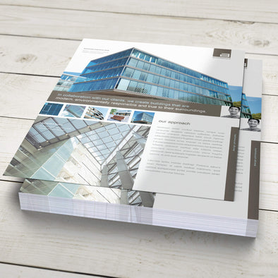 Sales Sheet - 100lb. Matte Book with Gloss Aqueous Coating
