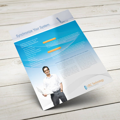 Sales Sheet - 70lb. Smooth Text, Uncoated