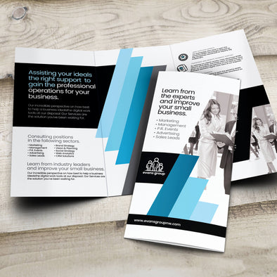 Brochure - 100lb. Gloss Cover with Gloss Aqueous Coating