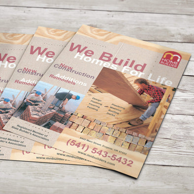 Flyers - 70lb. Smooth Text, Uncoated