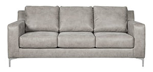 Ashley Furniture Signature Design - Ryler Contemporary Upholstered Sofa - Steel