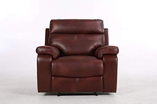 Halter HAL-5986 Recliner Sofa, Cherry