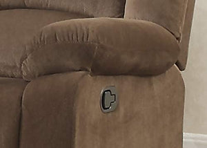 Christies Home Living Bill-Brown-DRL Contemporary Room Reclining Love Seat,