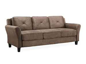 LifeStyle Solutions Harrington Sofa in Brown