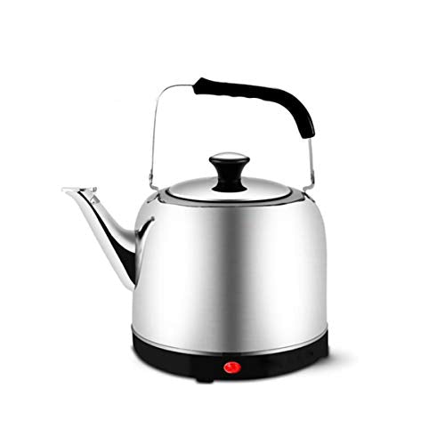 Jielongtongxun Single Layer Stainless Steel Electric Kettle, 6L, Large Capacit,Stainless Steel With 100% Plastic-Free Interior,,Safe And Secure,Applicable Voltage: 110V~220VV Small (Capacity : 6L)