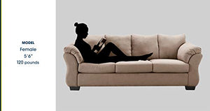 Truly Home UPH10131C Gaines Sofa, Tan