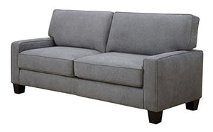"Serta Deep Seating Palisades 78"" Sofa in Essex Gray"