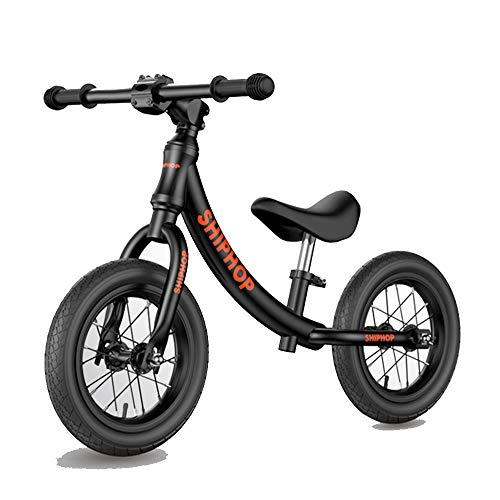XBSD Aluminum Balance Bike,Lightweight No Pedal Kids Walking Bicycle, Adjustable Handlebar and Seat, Suitable for 2-6 Years Old Boys and Girls.