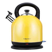 Load image into Gallery viewer, WI Electric Kettle Intelligent Control Electric Kettle Food Grade 304 Stainless Steel Lemon Yellow 4.2L Large Capacity 23 31Cm Easy to Move,Fast Boiling Household Electric Kettle