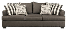 Load image into Gallery viewer, Ashley Furniture Signature Design - Levon Sofa - Classic Style - Charcoal Gray