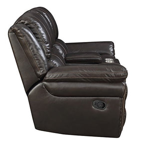 "MorriSofa MNY2460-50-0030-4080 William Reclining Love Seat, 79"" x 39"" x 40.5"", Chocolate"