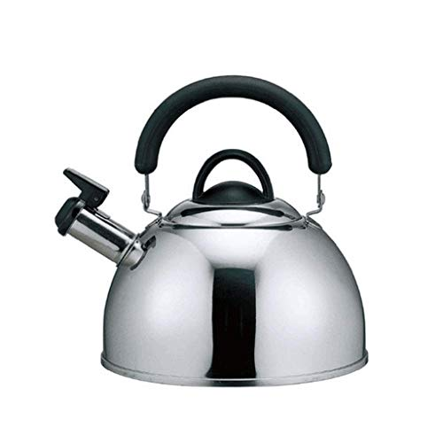 Chen Kettle Stainless Steel Thickened Kettle Kettle Household Gas Large Capacity Whistle Gas Induction Cooker 2.5L