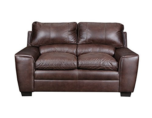 Simmons Upholstery 9085-02 Shiloh Sable Loveseat,