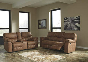 Signature Design by Ashley 3380288 Boxberg Reclining Sofa, Bark