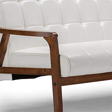 Load image into Gallery viewer, Baxton Studio Mid-Century Masterpieces Sofa, White