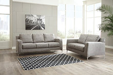 Load image into Gallery viewer, Ashley Furniture Signature Design - Ryler Contemporary Upholstered Sofa - Steel