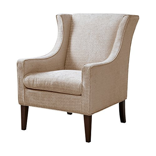 Madison Park Addy Wing Chair Cream See Below