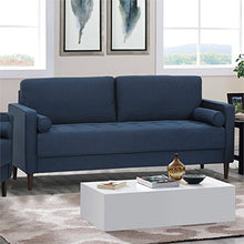 Load image into Gallery viewer, Hawthorne Collections Sofa in Navy Blue